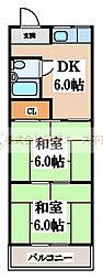 仁田マンション[2階]の間取り