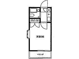 エンタープライズ西町田[2階]の間取り