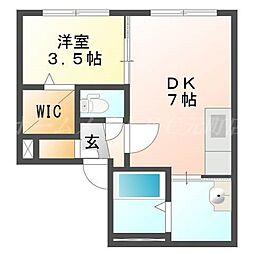 CASA N7[2階]の間取り