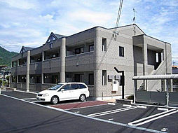 広島県広島市安佐南区古市4丁目の賃貸アパートの外観