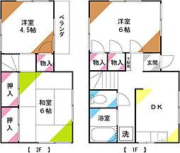 [一戸建] 埼玉県さいたま市北区本郷町 の賃貸【埼玉県 / さいたま市北区】の間取り