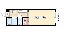 愛知県名古屋市南区元柴田東町4丁目の賃貸マンションの間取り
