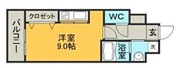 アイセレブ箱崎浪漫邸[2階]の間取り