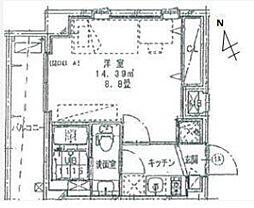 リライア東武練馬[4階]の間取り