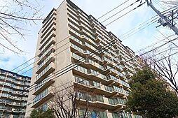 京橋グリーンハイツ2号棟[5階]の外観