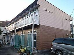 愛知県あま市下萱津銀杏木の賃貸アパートの外観