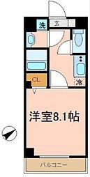 ブリリアント大木[2階]の間取り