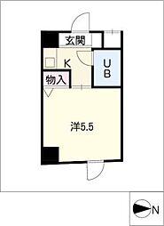 ハーモニーマンション[5階]の間取り