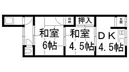 水戸文化[0200号室]の間取り