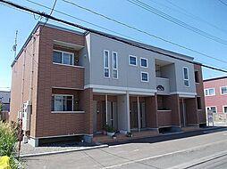 北海道札幌市白石区川北二条1丁目の賃貸アパートの外観