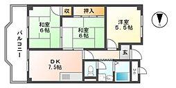 新栄プロパティー軽里[2階]の間取り