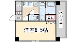 クレアート新大阪セレニティ[7階]の間取り