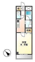 CASSIA大曽根(旧アーデン大曽根)[8階]の間取り