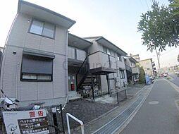 兵庫県伊丹市松ケ丘1丁目の賃貸アパートの外観