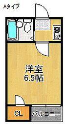 コスモレジデンス墨江[3階]の間取り