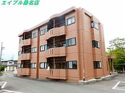 三重県桑名市大字額田の賃貸マンションの外観