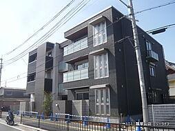 大阪府東大阪市岩田町3丁目の賃貸マンションの外観