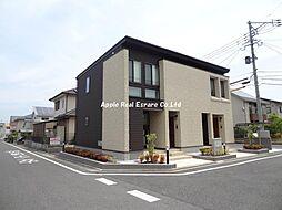 福岡県北九州市八幡西区本城学研台3の賃貸アパートの外観