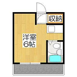 コットンハウス95[401号室]の間取り