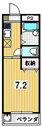 ATIROM18[102号室]の間取り