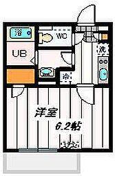 埼玉新都市交通 鉄道博物館(大成)駅 徒歩13分の賃貸マンション 3階1Kの間取り