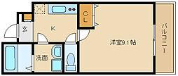 アスピリア古池[1階]の間取り