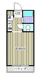 シャルマンフジ熊谷壱番館[306号室]の間取り