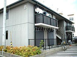 森田ハイツ C棟[1階]の外観