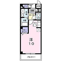 エステート・レイ1[1階]の間取り