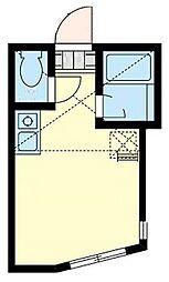 ユナイト保土ヶ谷バルジェロの杜[1階]の間取り