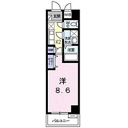 メゾン ド サクラ[2階]の間取り