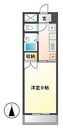 フォルム大須[4階]の間取り