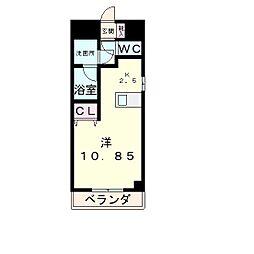 エンゼルプラザeast1[3階]の間取り