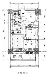 東京メトロ丸ノ内線 新宿御苑前駅 徒歩5分の賃貸マンション 10階3LDKの間取り