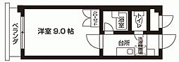 KINYAビル[301号室号室]の間取り