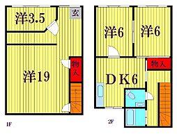 京葉流通センター3-22[2階]の間取り