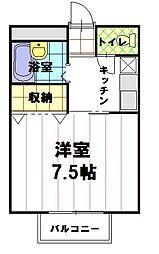 インペリアルパレス[3階]の間取り