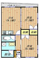NK COURT 209号室[209号室号室]の間取り