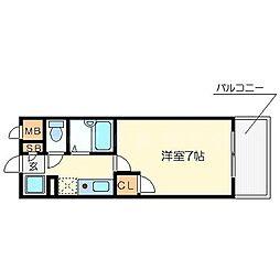 キャッスルコート[2階]の間取り