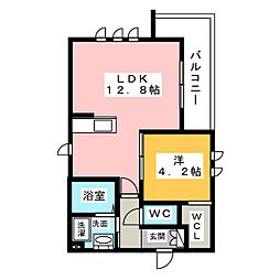 松栄ガーデン[3階]の間取り