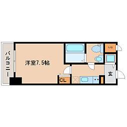 兵庫県尼崎市昭和南通3丁目の賃貸マンションの間取り