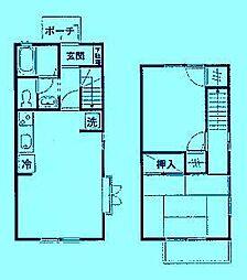 シルフィ宮前C棟[1階]の間取り