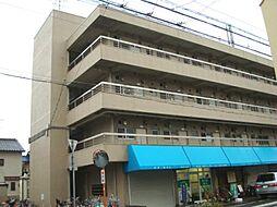 兵庫県尼崎市武庫之荘4の賃貸マンションの外観