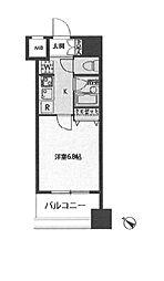 ドゥーエ新川[1103号室]の間取り