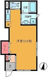 M&H Smart Home[101号室]の間取り