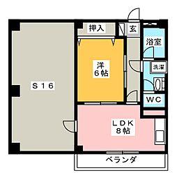 MTGビル[4階]の間取り