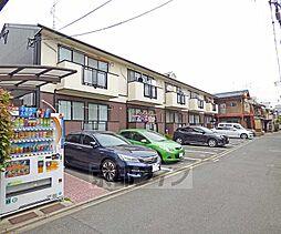 京都府京都市上京区七本松通出水上る七番町の賃貸アパートの外観