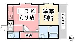 鉄砲町駅 4.9万円