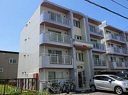 北海道札幌市白石区本郷通6丁目北の賃貸マンションの外観