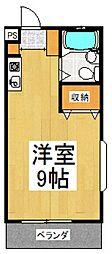 コンフォートS[1階]の間取り